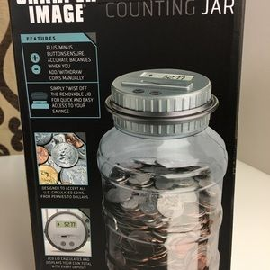 Sharper Image Other Digital Counting Jar Fathers Day Poshmark